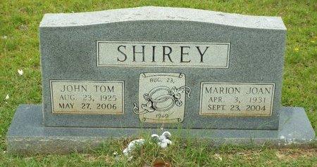 SMITH SHIREY, MARION JOAN - Claiborne County, Louisiana   MARION JOAN SMITH SHIREY - Louisiana Gravestone Photos