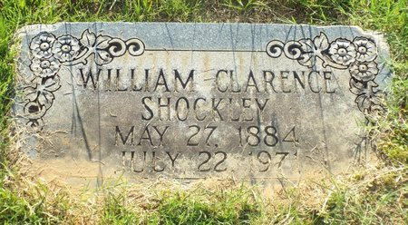 SHOCKLEY, WILLIAM CLARENCE - Claiborne County, Louisiana | WILLIAM CLARENCE SHOCKLEY - Louisiana Gravestone Photos