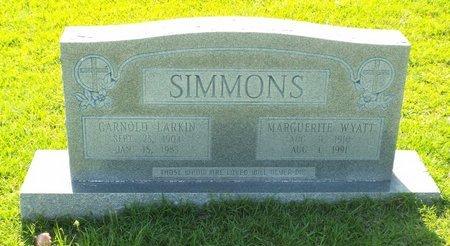 SIMMONS, GARNOLD LARKIN - Claiborne County, Louisiana | GARNOLD LARKIN SIMMONS - Louisiana Gravestone Photos