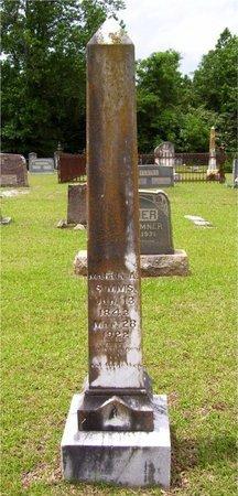 ELLIOTT SIMMS, MAHALA - Claiborne County, Louisiana | MAHALA ELLIOTT SIMMS - Louisiana Gravestone Photos