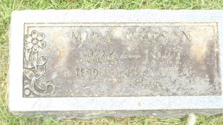 TINSLEY SIMPSON, MIRA - Claiborne County, Louisiana | MIRA TINSLEY SIMPSON - Louisiana Gravestone Photos