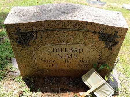 SIMS, DILLARD - Claiborne County, Louisiana | DILLARD SIMS - Louisiana Gravestone Photos
