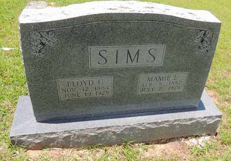 SIMS, FLOYD G - Claiborne County, Louisiana | FLOYD G SIMS - Louisiana Gravestone Photos