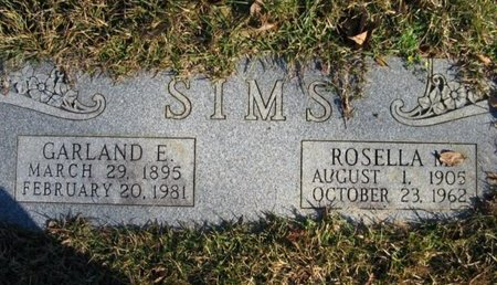 SIMS, ROSELLA M - Claiborne County, Louisiana | ROSELLA M SIMS - Louisiana Gravestone Photos