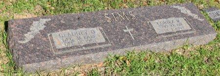 SIMS, GLADNEY D - Claiborne County, Louisiana | GLADNEY D SIMS - Louisiana Gravestone Photos
