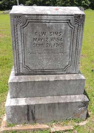 SIMS, G W - Claiborne County, Louisiana | G W SIMS - Louisiana Gravestone Photos