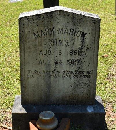 SIMS, MARK MARION - Claiborne County, Louisiana | MARK MARION SIMS - Louisiana Gravestone Photos