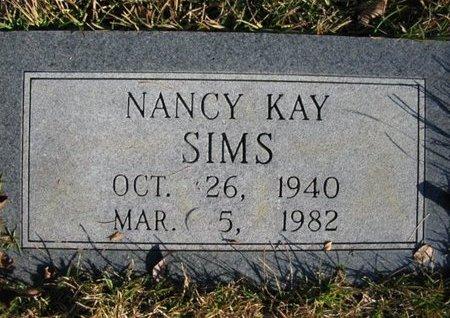 SIMS, NANCY KAY - Claiborne County, Louisiana | NANCY KAY SIMS - Louisiana Gravestone Photos