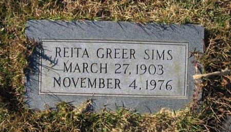 SIMS, REITA - Claiborne County, Louisiana | REITA SIMS - Louisiana Gravestone Photos