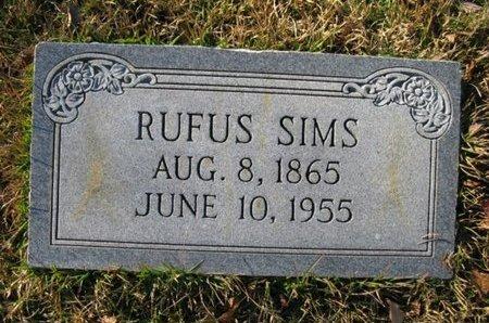 SIMS, RUFUS - Claiborne County, Louisiana   RUFUS SIMS - Louisiana Gravestone Photos