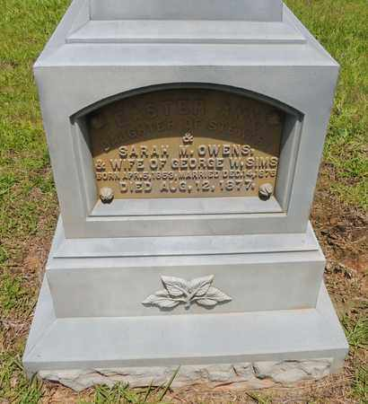 OWENS SIMS, EASTER ANN - Claiborne County, Louisiana | EASTER ANN OWENS SIMS - Louisiana Gravestone Photos
