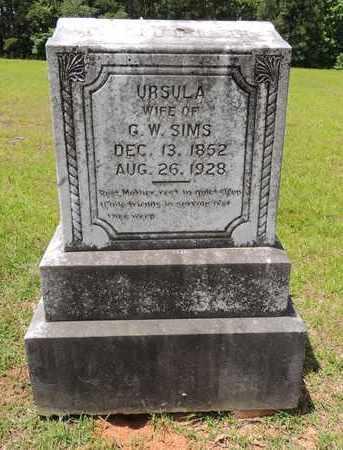 SIMS, URSULA - Claiborne County, Louisiana | URSULA SIMS - Louisiana Gravestone Photos