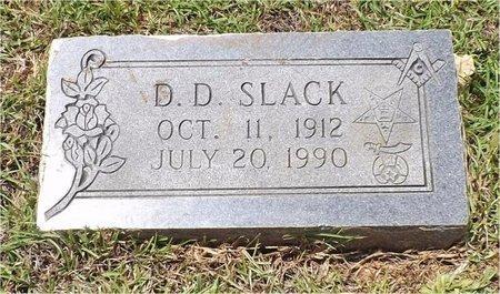 SLACK, D D - Claiborne County, Louisiana | D D SLACK - Louisiana Gravestone Photos