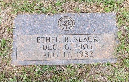 BENEFIELD SLACK, ETHEL - Claiborne County, Louisiana   ETHEL BENEFIELD SLACK - Louisiana Gravestone Photos
