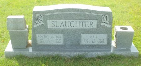 SLAUGHTER, NELL - Claiborne County, Louisiana | NELL SLAUGHTER - Louisiana Gravestone Photos