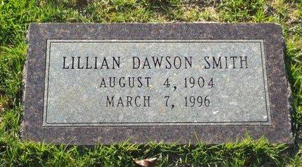 DAWSON SMITH, LILLIAN - Claiborne County, Louisiana   LILLIAN DAWSON SMITH - Louisiana Gravestone Photos