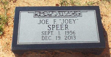 "SPEER, JOE F ""JOEY"" - Claiborne County, Louisiana | JOE F ""JOEY"" SPEER - Louisiana Gravestone Photos"
