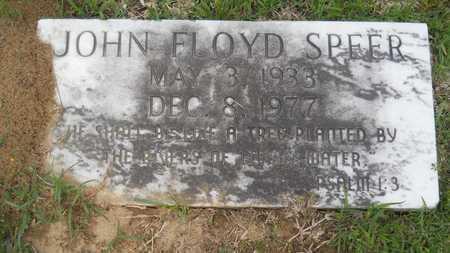 SPEER, JOHN FLOYD - Claiborne County, Louisiana | JOHN FLOYD SPEER - Louisiana Gravestone Photos