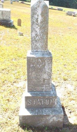 STATON, O D - Claiborne County, Louisiana | O D STATON - Louisiana Gravestone Photos
