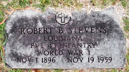 STEVENS, ROBERT B (VETERAN WWI) - Claiborne County, Louisiana | ROBERT B (VETERAN WWI) STEVENS - Louisiana Gravestone Photos