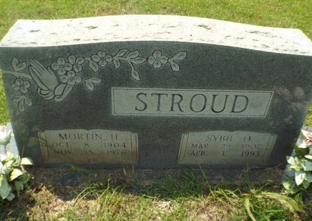 STROUD, MORTIN H - Claiborne County, Louisiana   MORTIN H STROUD - Louisiana Gravestone Photos