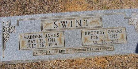 OWENS SWINT, BROOKSY - Claiborne County, Louisiana | BROOKSY OWENS SWINT - Louisiana Gravestone Photos