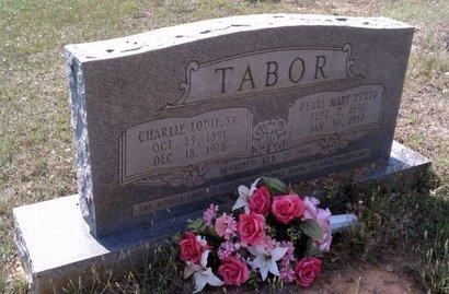 HUTTO TABOR, PEARL MARY - Claiborne County, Louisiana | PEARL MARY HUTTO TABOR - Louisiana Gravestone Photos