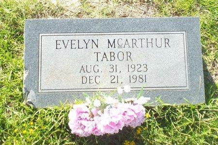 MCARTHUR TABOR, EVELYN - Claiborne County, Louisiana   EVELYN MCARTHUR TABOR - Louisiana Gravestone Photos