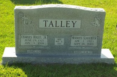SLAUGHTER TALLEY, FRANCE - Claiborne County, Louisiana | FRANCE SLAUGHTER TALLEY - Louisiana Gravestone Photos