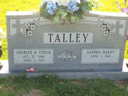 """TALLEY, CHARLES R """"CHUCK"""" - Claiborne County, Louisiana   CHARLES R """"CHUCK"""" TALLEY - Louisiana Gravestone Photos"""