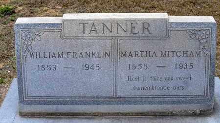 TANNER, WILLIAM FRANKLIN - Claiborne County, Louisiana | WILLIAM FRANKLIN TANNER - Louisiana Gravestone Photos