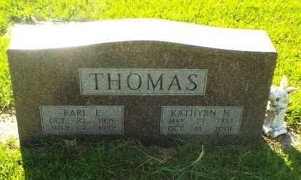 THOMAS, EARL ED - Claiborne County, Louisiana | EARL ED THOMAS - Louisiana Gravestone Photos