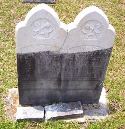 THOMAS, INFANT SON - Claiborne County, Louisiana | INFANT SON THOMAS - Louisiana Gravestone Photos
