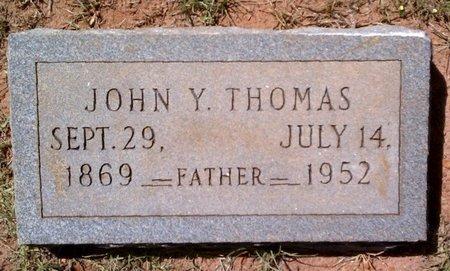 THOMAS, JOHN Y - Claiborne County, Louisiana | JOHN Y THOMAS - Louisiana Gravestone Photos