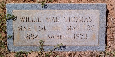 THOMAS, WILLIE MAE - Claiborne County, Louisiana   WILLIE MAE THOMAS - Louisiana Gravestone Photos