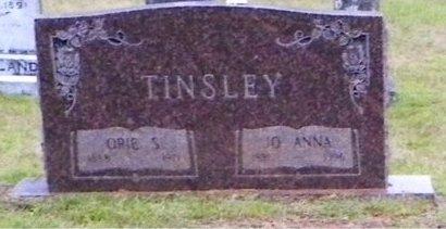 TINSLEY, JO ANNA - Claiborne County, Louisiana | JO ANNA TINSLEY - Louisiana Gravestone Photos
