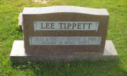 TIPPETT, LEE - Claiborne County, Louisiana   LEE TIPPETT - Louisiana Gravestone Photos