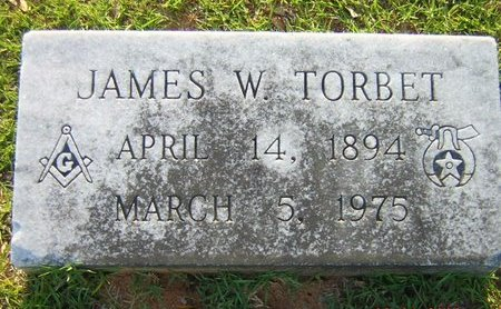 TORBET, JAMES W. - Claiborne County, Louisiana | JAMES W. TORBET - Louisiana Gravestone Photos