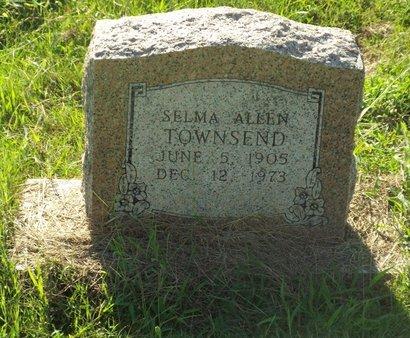 ALLEN TOWNSEND, SELMA - Claiborne County, Louisiana   SELMA ALLEN TOWNSEND - Louisiana Gravestone Photos