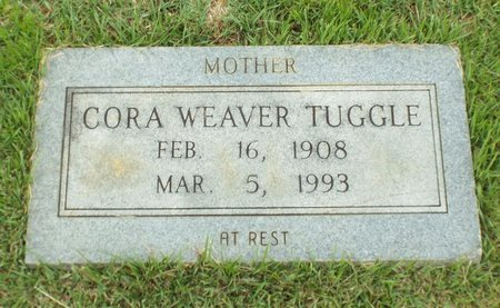 WEAVER TUGGLE, CORA - Claiborne County, Louisiana | CORA WEAVER TUGGLE - Louisiana Gravestone Photos