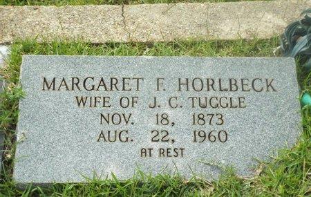 HORLBECK TUGGLE, MARGARET F. - Claiborne County, Louisiana | MARGARET F. HORLBECK TUGGLE - Louisiana Gravestone Photos