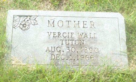 WALL TUTON, VERCIE - Claiborne County, Louisiana | VERCIE WALL TUTON - Louisiana Gravestone Photos