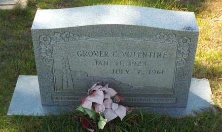VOLENTINE, GROVER C - Claiborne County, Louisiana | GROVER C VOLENTINE - Louisiana Gravestone Photos