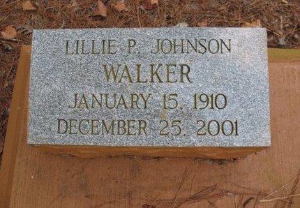 JOHNSON WALKER, LILLIE P - Claiborne County, Louisiana | LILLIE P JOHNSON WALKER - Louisiana Gravestone Photos