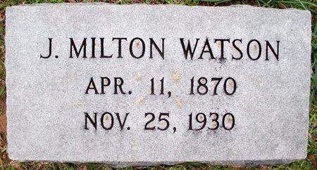 WATSON, JOHN MILTON - Claiborne County, Louisiana | JOHN MILTON WATSON - Louisiana Gravestone Photos