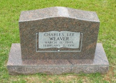 WEAVER, CHARLES LEE - Claiborne County, Louisiana | CHARLES LEE WEAVER - Louisiana Gravestone Photos