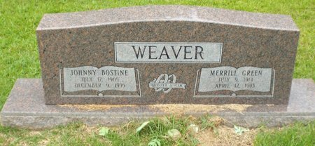 GREEN WEAVER, MERRILL - Claiborne County, Louisiana | MERRILL GREEN WEAVER - Louisiana Gravestone Photos