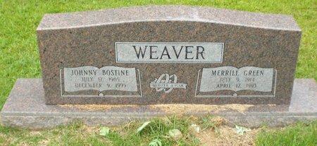 WEAVER, MERRILL - Claiborne County, Louisiana | MERRILL WEAVER - Louisiana Gravestone Photos