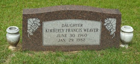 WEAVER, KIMBERLY FRANCIS - Claiborne County, Louisiana | KIMBERLY FRANCIS WEAVER - Louisiana Gravestone Photos