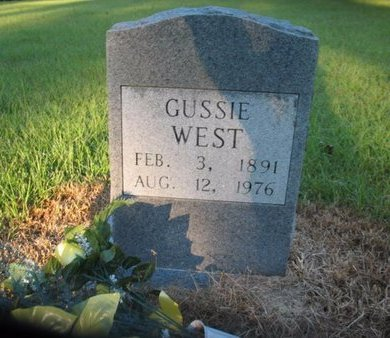 WEST, GUSSIE - Claiborne County, Louisiana | GUSSIE WEST - Louisiana Gravestone Photos